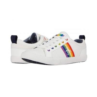 Original Penguin オリジナルペンギン メンズ 男性用 シューズ 靴 スニーカー 運動靴 Devin - White/Rainbow