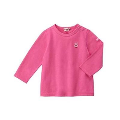 [ミキハウス ホットビスケッツ] Tシャツ 73-5201-451 (80, ローズ)