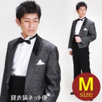 タキシード レンタル M・Lサイズ/165~172cm/グレー NT-202 送料無料