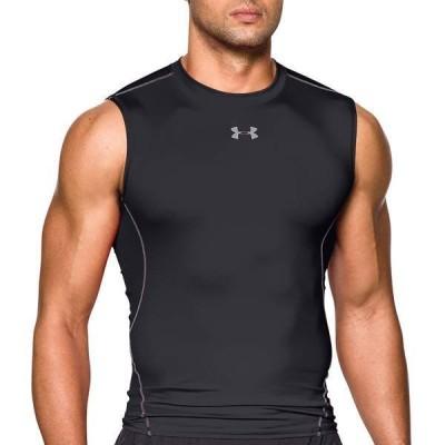アンダーアーマー メンズ シャツ トップス Under Armour Men's HeatGear Armour Sleeveless Shirt