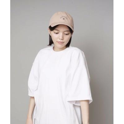 JEANS MATE / 【CONVERSE/コンバース】リボンツイルキャップ ローキャップ バックリボン ワンポイントブランドロゴ刺繍 WOMEN 帽子 > キャップ