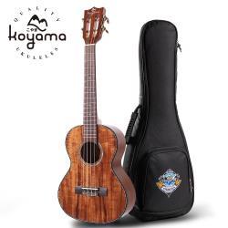 Koyama 26吋烏克麗麗 KYM-300SAC-T 古典琴頭 相思木全單 相思木單板 全單烏克麗麗 Tenor Ukulele