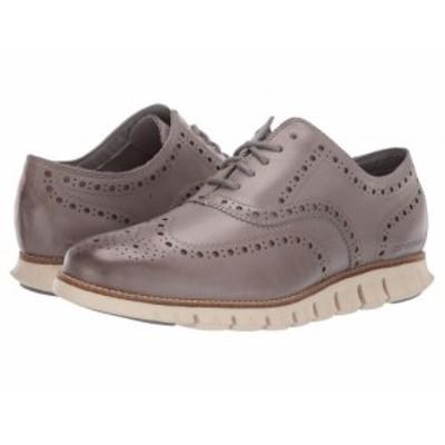 Cole Haan コールハーン メンズ 男性用 シューズ 靴 オックスフォード 紳士靴 通勤靴 ZeroGrand Wing Ox Leather Ironstone【送料無料】