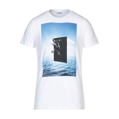 ビッケンバーグ BIKKEMBERGS T シャツ ホワイト S コットン 94% / ポリウレタン 6% T シャツ