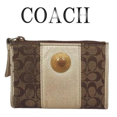 COACH コーチ シグネチャー キーリング コインケース