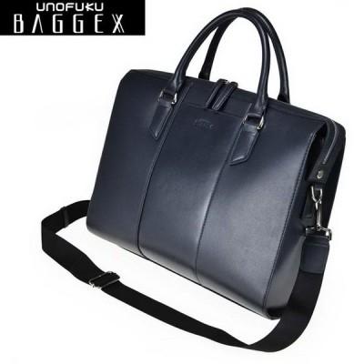 BAGGEX REGNUM/バジェックス レグナム レザー ブリーフ ビジネス 牛革軽量トートバッグ メンズ 23-5612