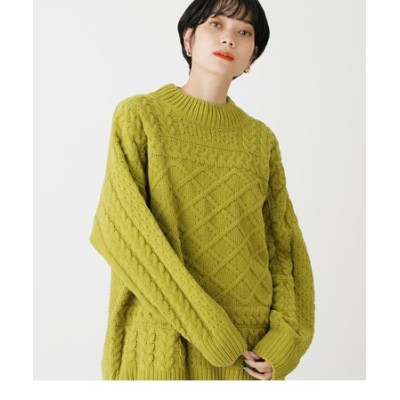 CHENILLE H/N CABLE KNIT TOPS