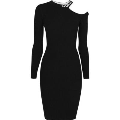ゲス Guess レディース ワンピース ワンピース・ドレス Carol Sweater Dress Jet Black A