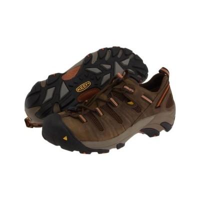 ブーツ キーン Men's KEEN Utility Atlanta Cool Steel Toe Work Boots