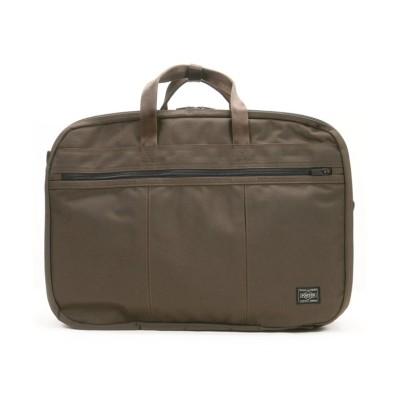 【カバンのセレクション】 吉田カバン ポーター テンション ビジネスバッグ 3WAY ビジネスリュック メンズ B4 PORTER 627-06560 ユニセックス ブラウン フリー Bag&Luggage SELECTION