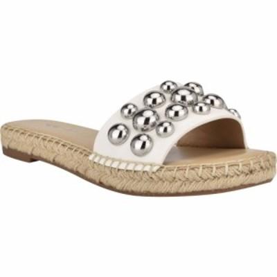 ナインウエスト NINE WEST レディース サンダル・ミュール シャワーサンダル シューズ・靴 Blast Slide Sandal White