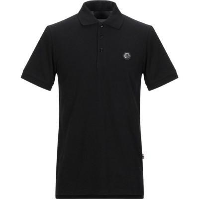 フィリップ プレイン PHILIPP PLEIN メンズ ポロシャツ トップス polo shirt Black