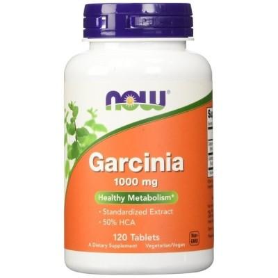 ナウフーズ ガルシニア 1000mg 120錠 Now Foods Garcinia 1000 120 Tablets