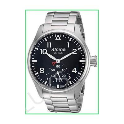 Alpina Men's AL280B4S6B Analog Display Swiss Quartz Silver Watch 並行輸入品