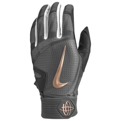 ナイキ Nike メンズ 野球 バッティンググローブ グローブ Huarache Elite Batting Gloves Anthracite/Dark Grey/Metallic Red Bronze