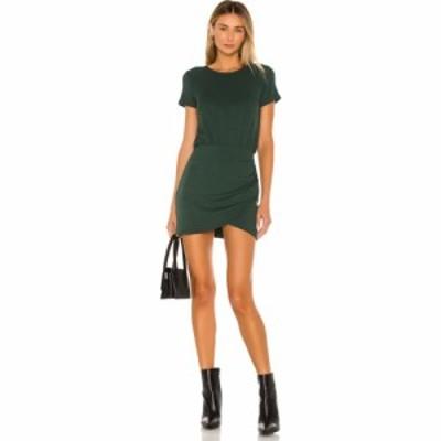 ラヴァーズフレンズ Lovers + Friends レディース ワンピース ミニ丈 ワンピース・ドレス Jenner Mini Dress Forest Green
