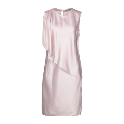 ブルマリン BLUMARINE ミニワンピース&ドレス ライトピンク 44 アセテート 60% / レーヨン 40% ミニワンピース&ドレス