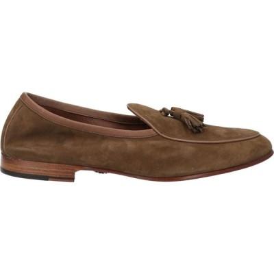 アンドレア ヴェントゥーラ ANDREA VENTURA FIRENZE メンズ ローファー シューズ・靴 loafers Khaki