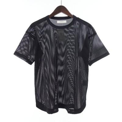 ジョンブル/JOHNBULL メッシュ Tシャツ 03J20 サイズ レディースS ブラック ランクA 106  (中古)