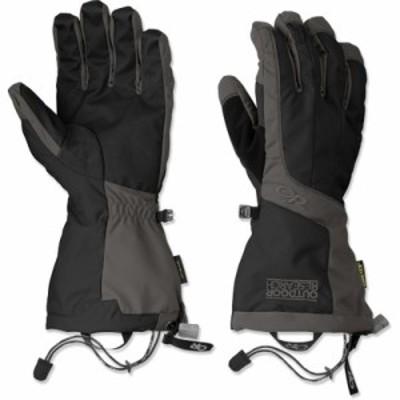 アウトドアリサーチ 手袋・グローブ Outdoor Research Arete Gloves BLACK/CHARCOAL