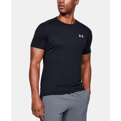 アンダーアーマー Tシャツ トップス メンズ Men's Logo T-Shirt Black
