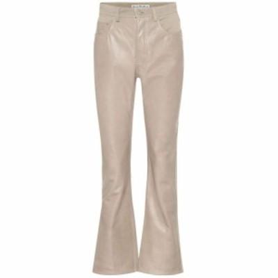 アクネ ストゥディオズ Acne Studios レディース ボトムス・パンツ レザーパンツ Leather and denim pants sand beige