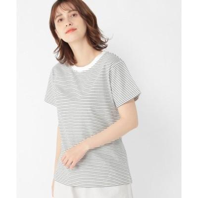 tシャツ Tシャツ ボーダーアソートクルーネックプルオーバー