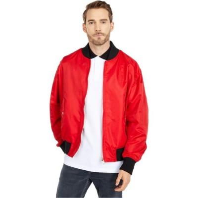 ヴェルサーチ Versace Jeans Couture メンズ ジャケット アウター Leo Chain Print Reversible Nylon Jacket Racing Red