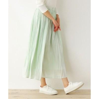 SHOO・LA・RUE / シューラルー 【M-LL】シャイニープリ−ツスカート