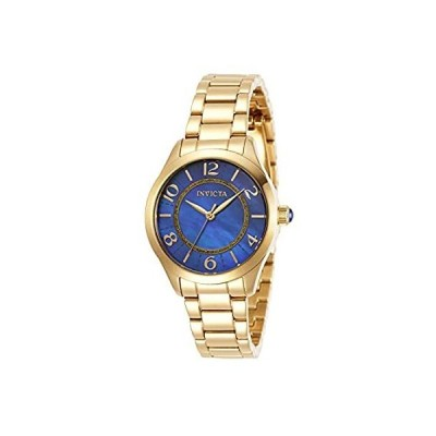 Invicta Women's Angel Quartz Watch with Stainless Steel Strap, Gold, 16 (Mo