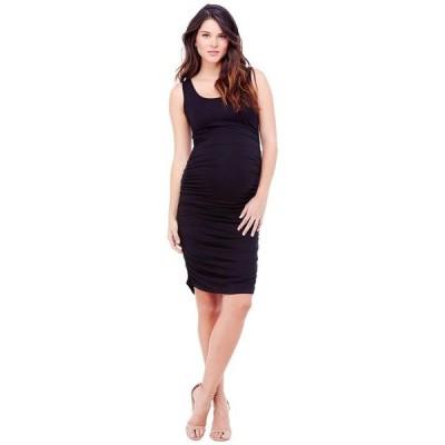 イングリッド&イザベル レディース ワンピース トップス Maternity Shirred Tank Dress