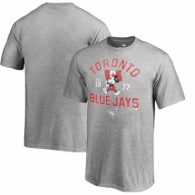 Fanatics Branded ファナティクス ブランド スポーツ用品  Fanatics Branded Toronto Blue Jays Youth Heather Gray Di
