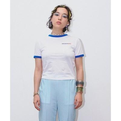 tシャツ Tシャツ 【Bonjour Girl】90S リンガーTシャツ