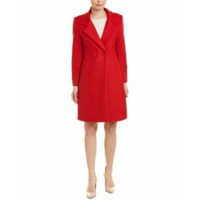 Red  ファッション 衣類 Elenyun Wool-Blend Coat 4 Red