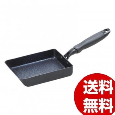 パール金属 ミッドナイトマーブル IH対応玉子焼13×18cm HB-5114