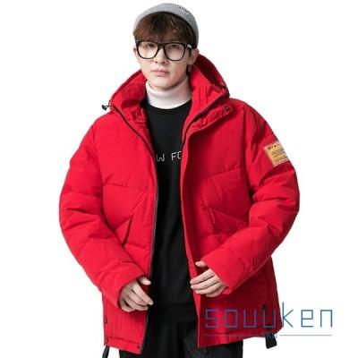 ダウンジャケット 防寒コート ダウンコート メンズ 冬 フード付き 厚手 防風 暖かい 大きいサイズ ゆったり おしゃれ カッコイイ 通勤