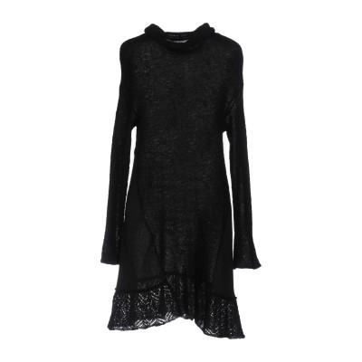 ピンコ PINKO ミニワンピース&ドレス ブラック M 40% アクリル 30% ナイロン 30% モヘヤ ミニワンピース&ドレス