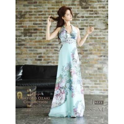 キャバドレス ロング キャバクラ パーティードレス リューユ Ryuyu スレンダー シフォン キャバ嬢 ナイトドレス