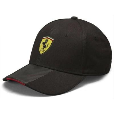 スクーデリア フェラーリ F1 ブラック カーボンハット