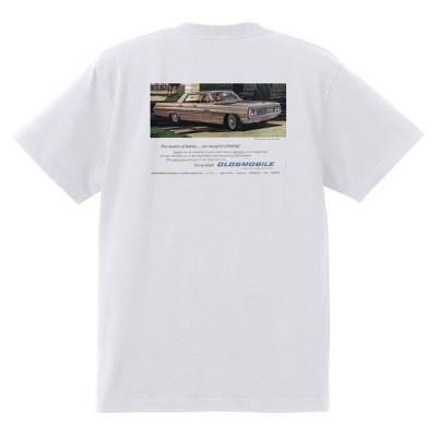 アドバタイジング オールズモビル 599 白 Tシャツ 黒地へ変更可  1962 スターファイア カトラス 98 88 ダイナミック スーパー ホットロッド