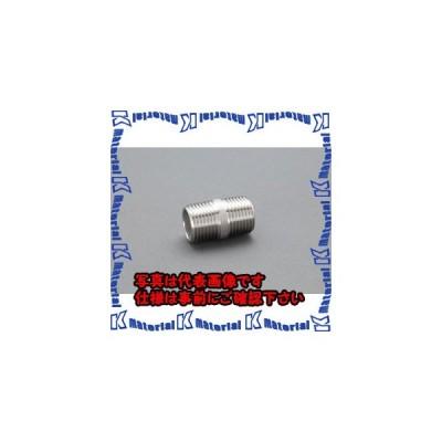 """【代引不可】【個人宅配送不可】ESCO(エスコ) R 1/8 """" 両ねじニップル(ステンレス製) EA469DF-1A [ESC016543]"""