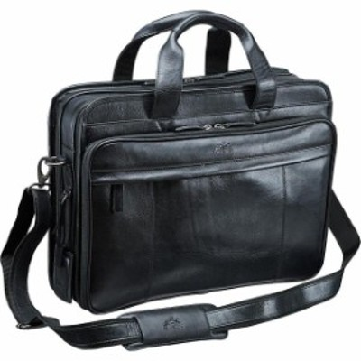 Mancini Leather Goods  旅行用品 キャリーバッグ Mancini Leather Goods Vanizia Laptop/Tablet Double Non-Wheeled Business Case NEW