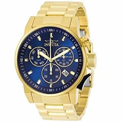 Invicta Mens 31637 I-Force Quartz Multifunction Blue Dial Watch