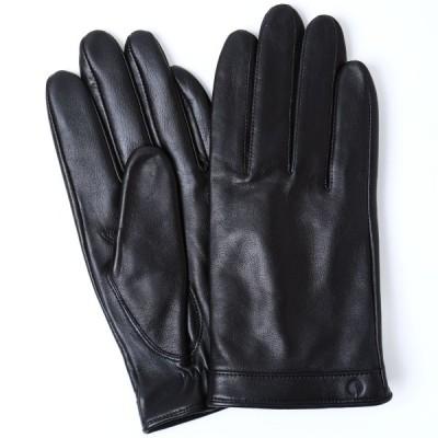 手袋 iTouch Gloves Leather L アイタッチグローブ レザー 本革 Lサイズ メンズ ブラック