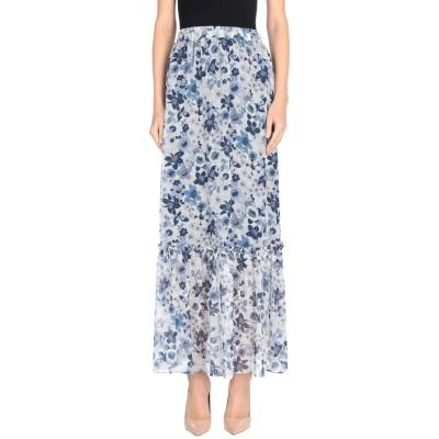 MY TWIN TWINSET ロングスカート ブルー XS ポリエステル 99% / 金属 1% ロングスカート