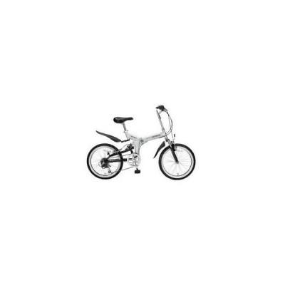 MYPALLAS 折畳自転車20インチ・6SP・Wサス シルバー M-207S
