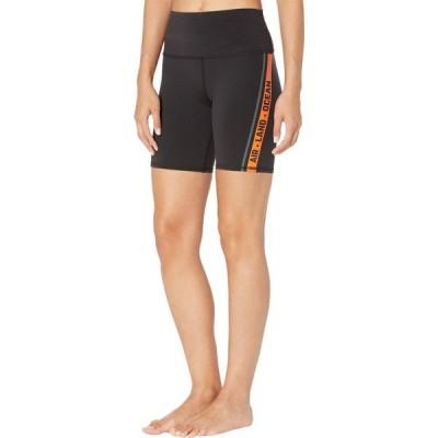 アロー ALO レディース ショートパンツ ボトムス・パンツ High-Waist Spin Shorts Black/Tangerine