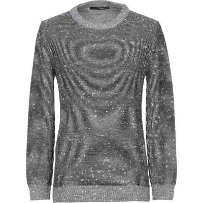 ハマキホ HAMAKI-HO メンズ ニット・セーター トップス sweater Grey