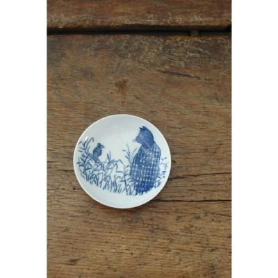 倉敷意匠 ユカワアツコ 銅版絵付け 9cmプレート (猫の草子) (6セット)