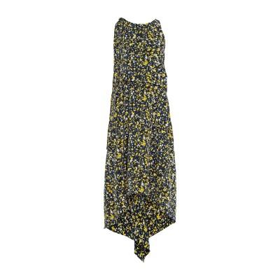 セドリック シャルリエ CEDRIC CHARLIER ロングワンピース&ドレス ダークブルー 40 シルク 100% ロングワンピース&ドレス